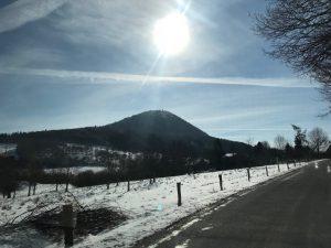Milesovka Mountain