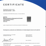DIN ISO 9001 Certificate 2018